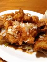 鶏唐ねぎ酢